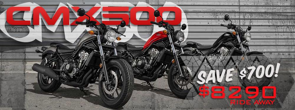 Honda CMX500 LAMS Bike