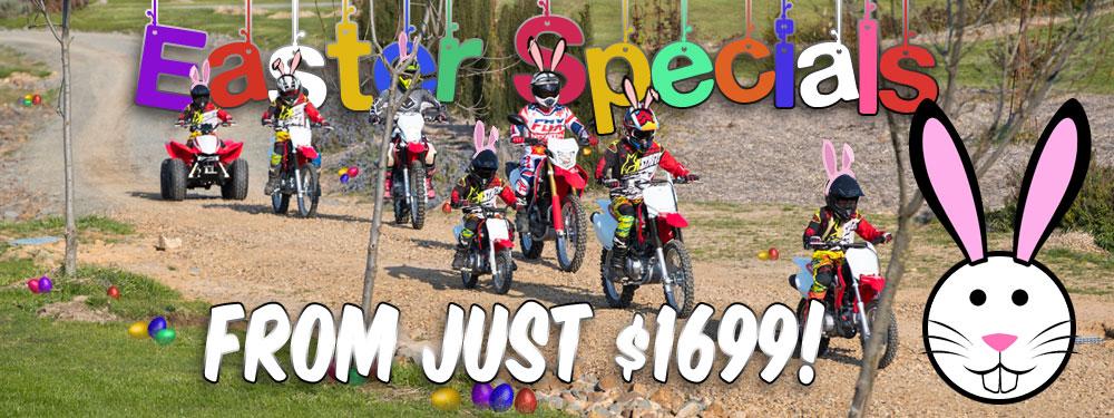 Honda Minibikes Easter Specials