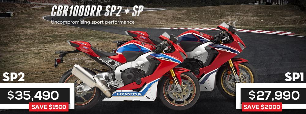 Honda CBR1000RR SP 1 and SP 2