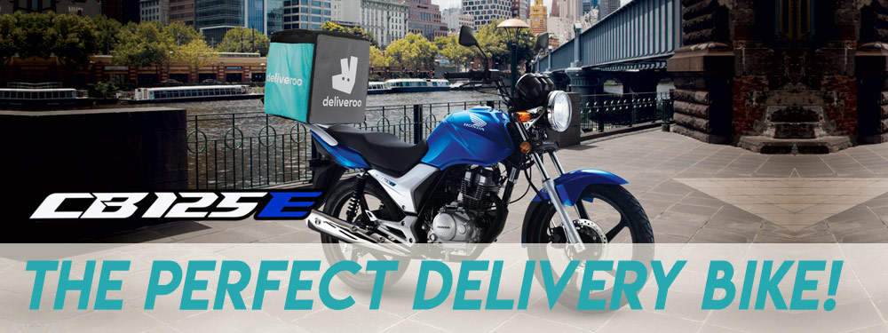 Honda CB125e UBER Eats and Deliveroo Bike