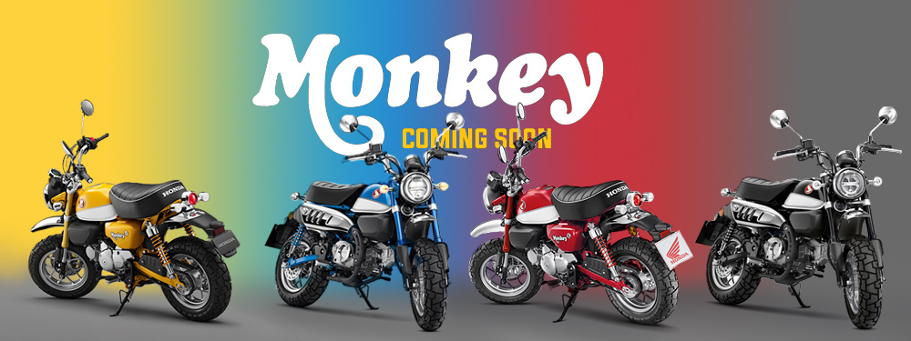 Honda Monkey 125 Colours