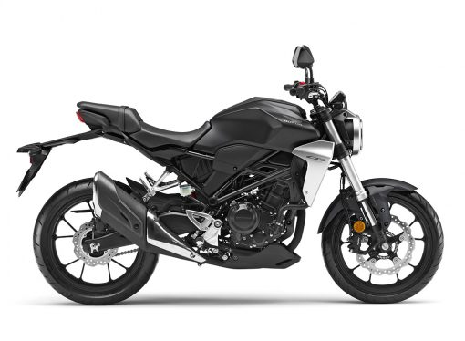 Honda CB300R Graphite Black