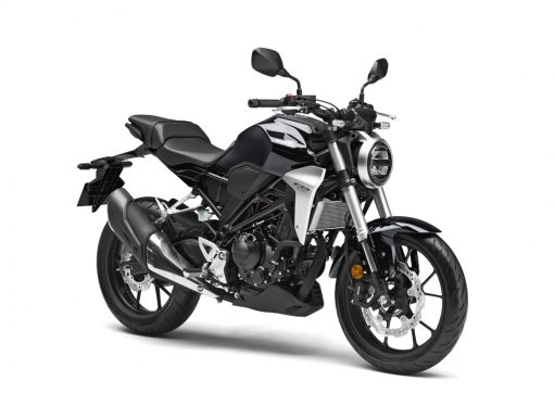 Honda CB300R Graphite Black Front Angle