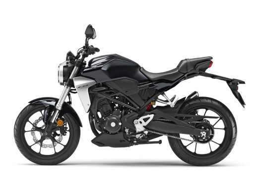 Honda CB300R Graphite Black left side