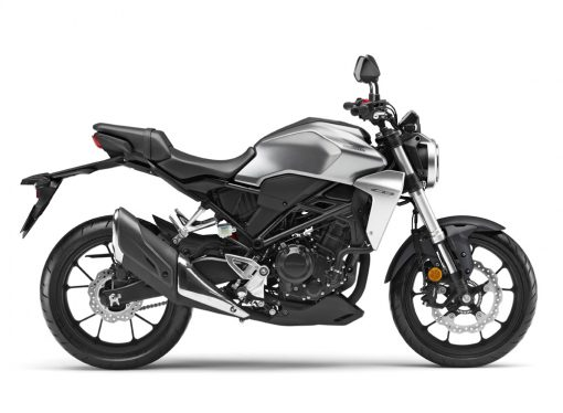 Honda CB300R Matte Axis Grey Metallic