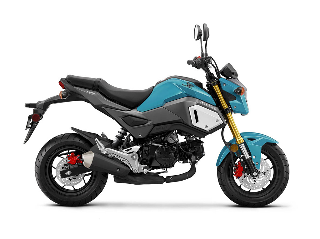 2019 Honda Grom Blue Raspberry