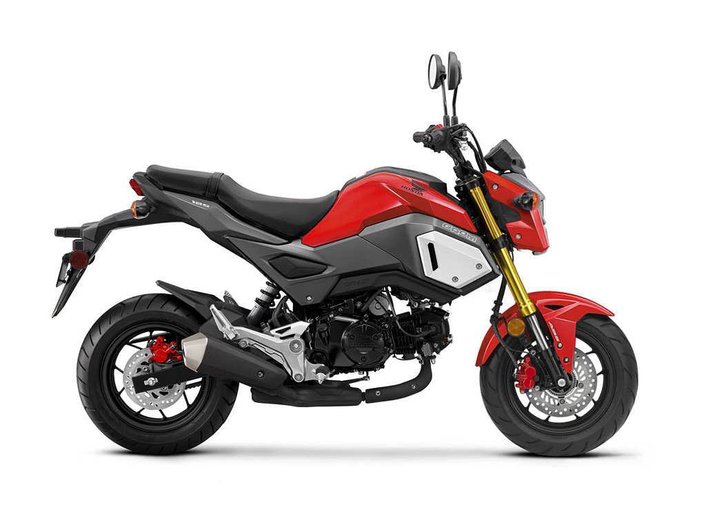2019 Honda Grom Cherry Red