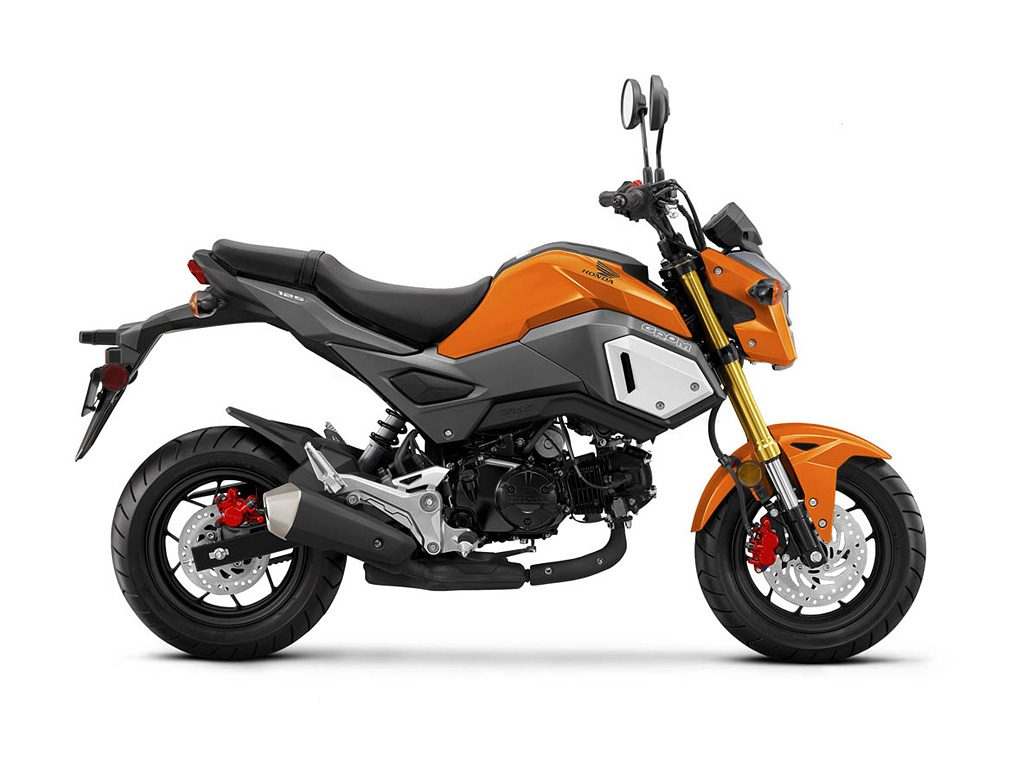 2019 Honda Grom Halloween Orange