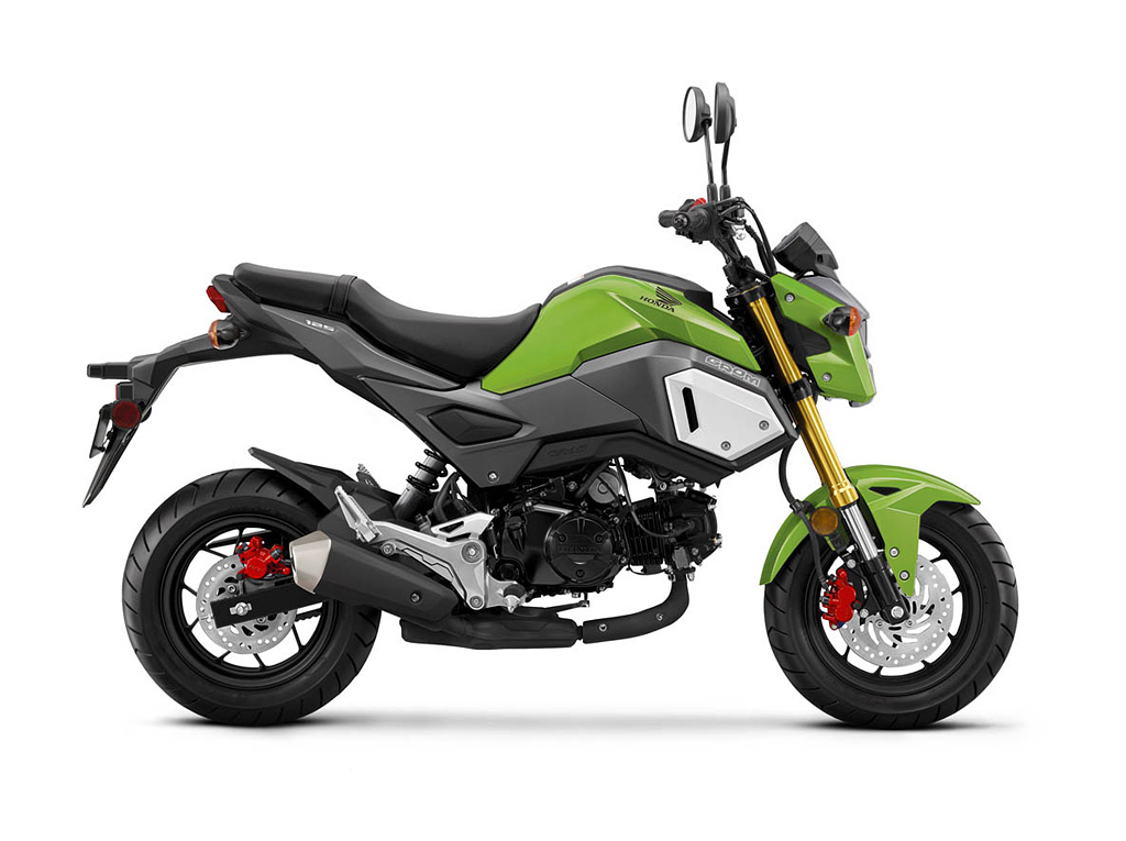 2019 Honda Grom Incredible Green