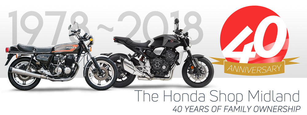 The Honda Shop Midland's 40th Anniversary