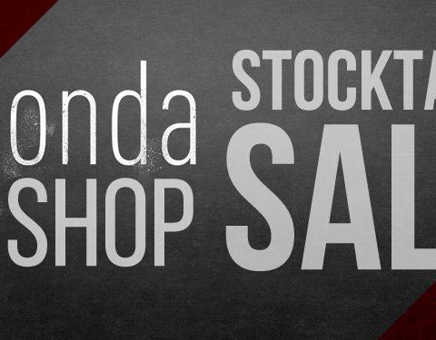 The Honda Shop Stocktake Sale