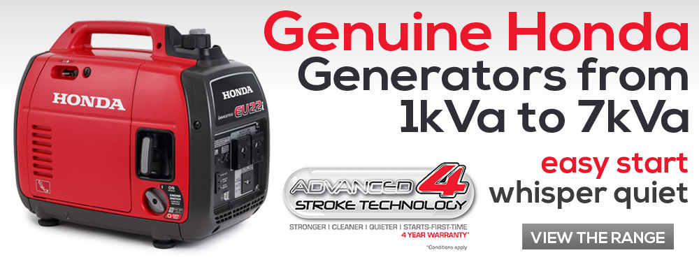 The Honda Difference - Generators Range