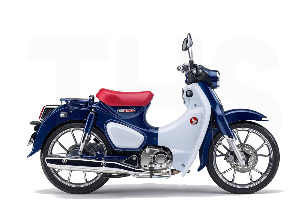 honda super cub c125 the honda shop. Black Bedroom Furniture Sets. Home Design Ideas