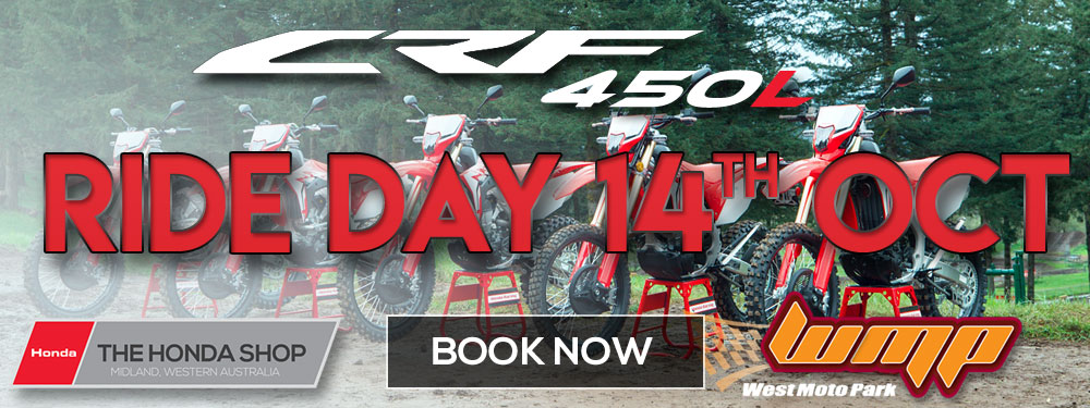 Honda CRF450L Ride Day Banner
