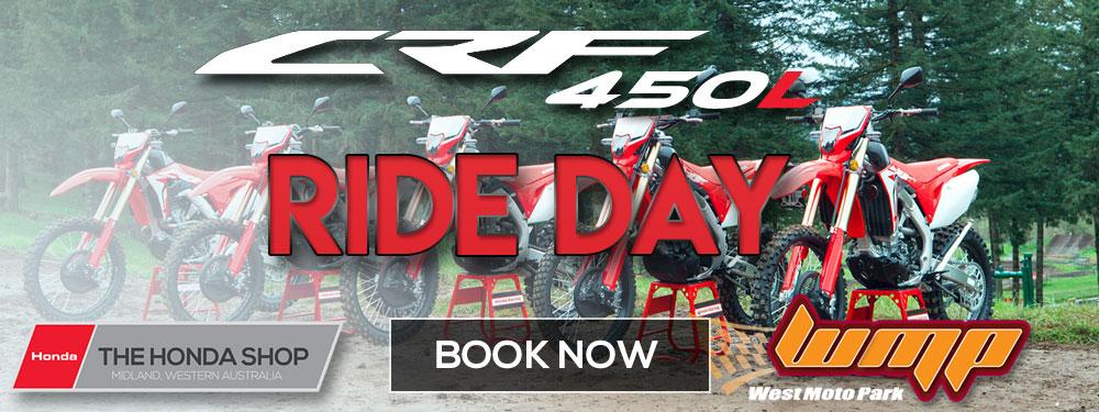 Honda CRF450L Ride Day Banner