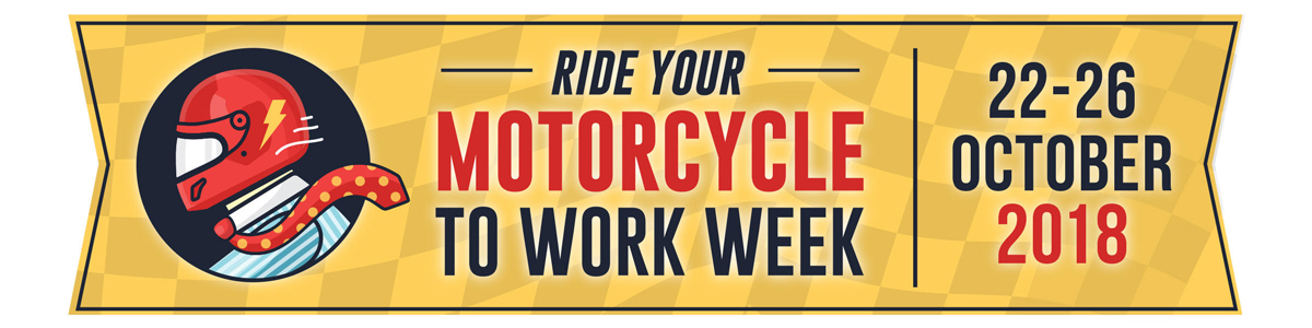 Ride Your Motorcycle To Work Week Banner