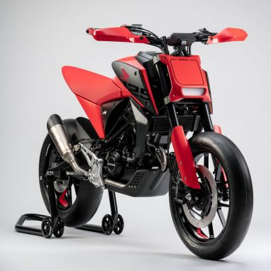 EICMA 2018 In Detail CB125M Concept