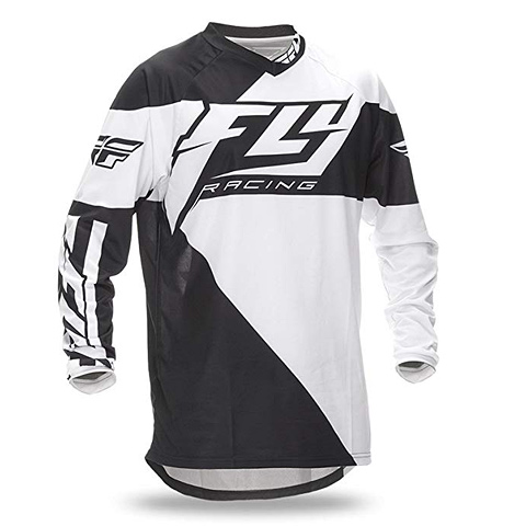 FLY F-16 Jersey Black White