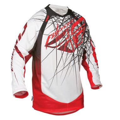 FLY Evolution Jersey Spike White