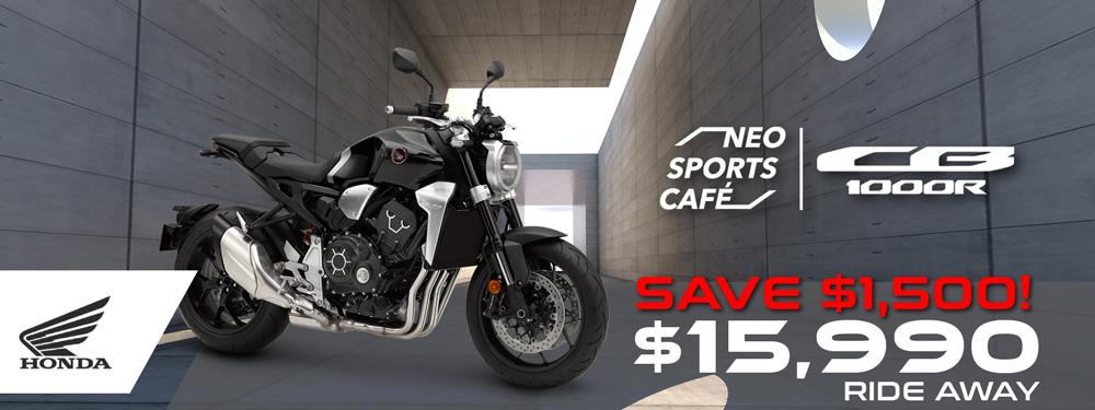 Honda CB1000R 2019 Banner