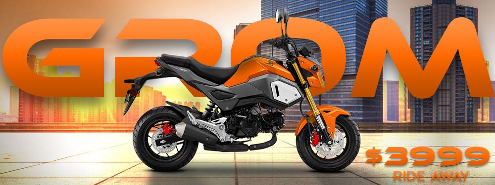 Honda Grom MSX125 Banner