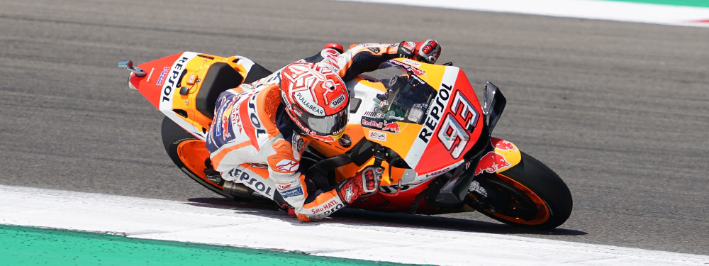Marquez Extends Lead With Second in Assen