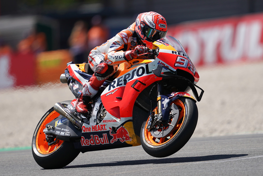 Marquez Extends Lead With Victory in Assen