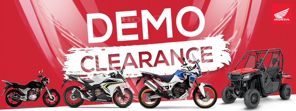 Demo Clearance Sale On Now