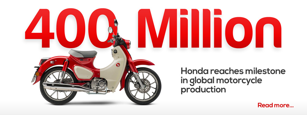 Honda reaches milestone