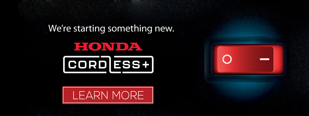 Honda Cordless Power Equipment