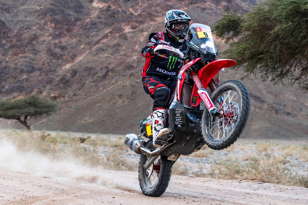 Ricky Brabec Secures Historic Win for Honda in Dakar 2020