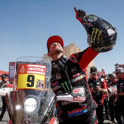 Ricky Brabec Secures Historic Win for Honda in Dakar 2020