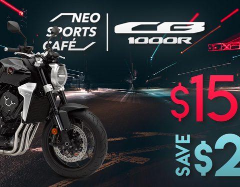 New Year = New Bike! Honda CB1000R