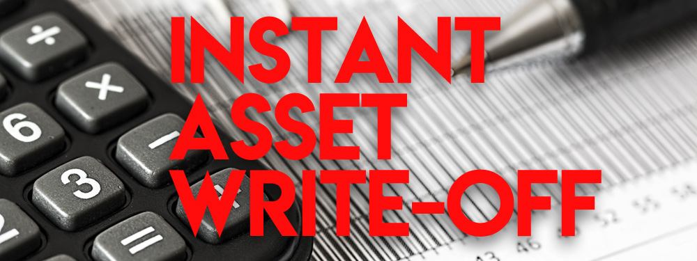 Instant Asset Write-off Now $150000