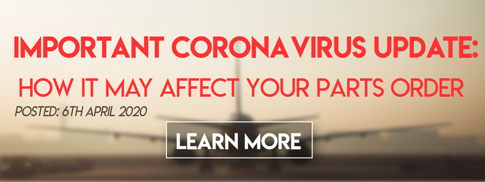 Important Corona Virus Update: Parts Orders