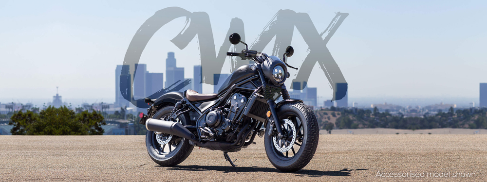 Updated Honda CMX500 for 2020 Joined by CMX500 S