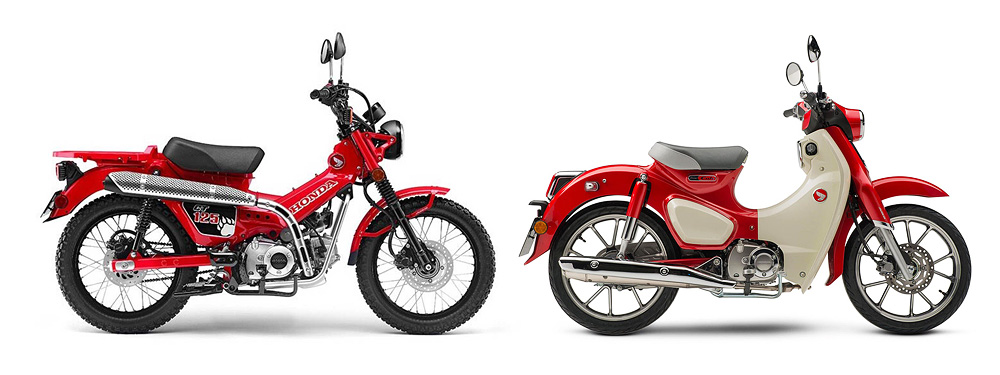 Honda Super CUb and CT125 Hunter Cub in Perth