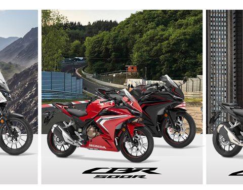 Honda 500cc LAMS Lineup 2021 Australia