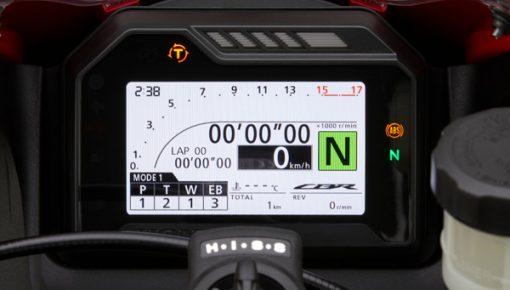 Honda CBR600RR 2021 Dash