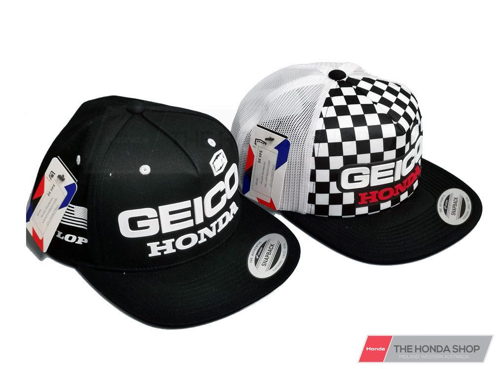 Honda Racing GEICO Flat Brim Cap