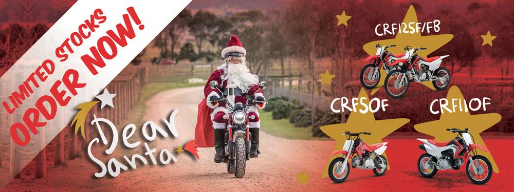 Honda Minibikes Perth Christmas 2020