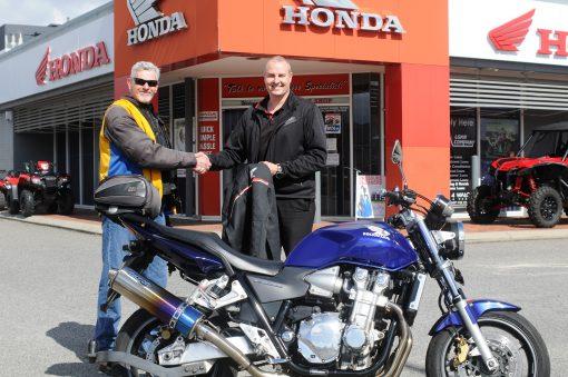 Terry Motorcycle Training Milestone