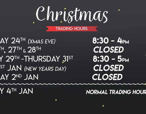 The Honda Shop New Years Trading Hours Perth