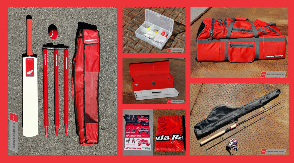 Honda Kids Promo Sports Gear Bag Package