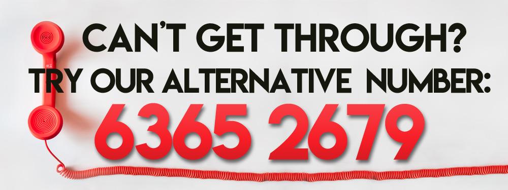 Alternative Phone Number