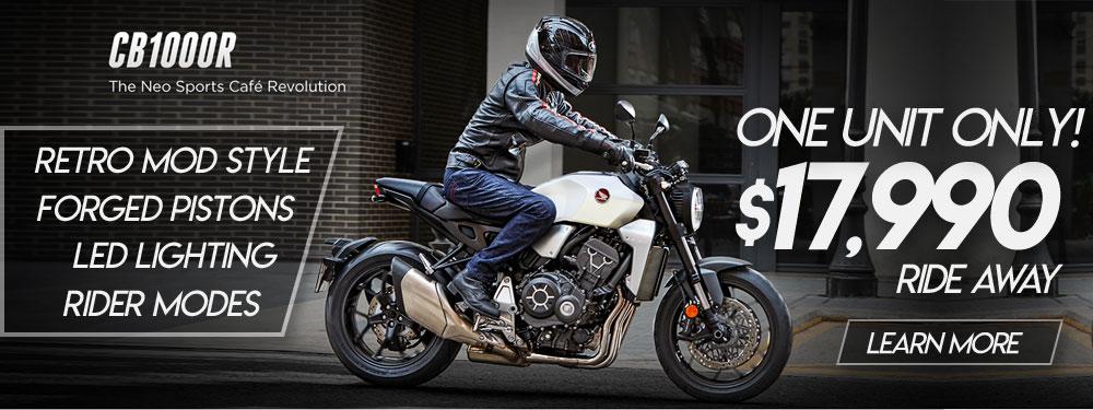 Honda CB1000R Banner