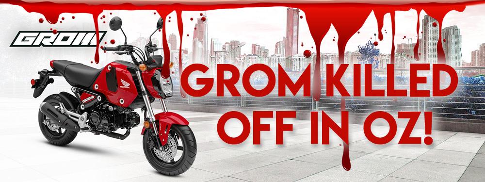 Honda Grom no longer available in Australia