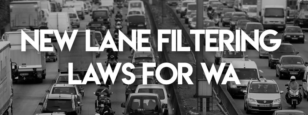 New lane filtering laws for Western Australia