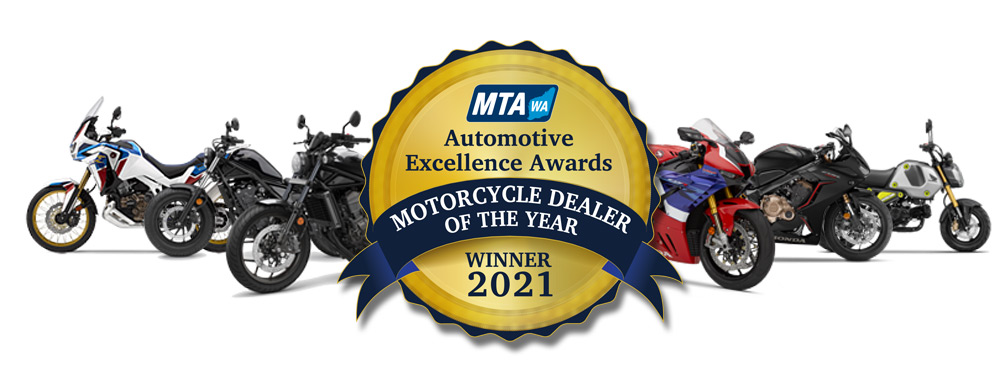 MTA WA Motorcycle Dealer of the Year Winner 2021