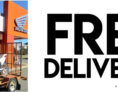 Free Delivery Slider